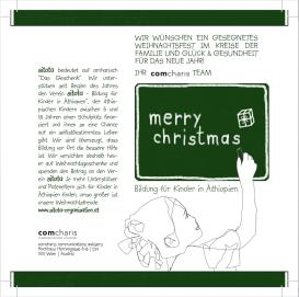 Sitota Weihnachtseinladung