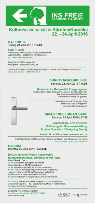 INS FREIE /Kunstausstellung