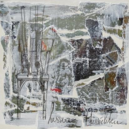 BESSERE AUSSICHTEN /COLLAGE ON PAPER